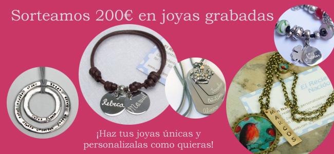 Sorteo 200 euros en joyas