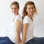 Mariela Rohleder y Maria del Mar Taillefer