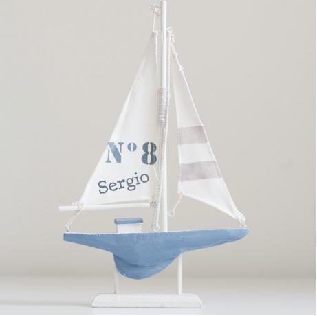 barco niño regalo personalizado