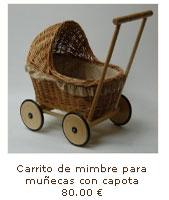 Carrito muñeca retro vintage
