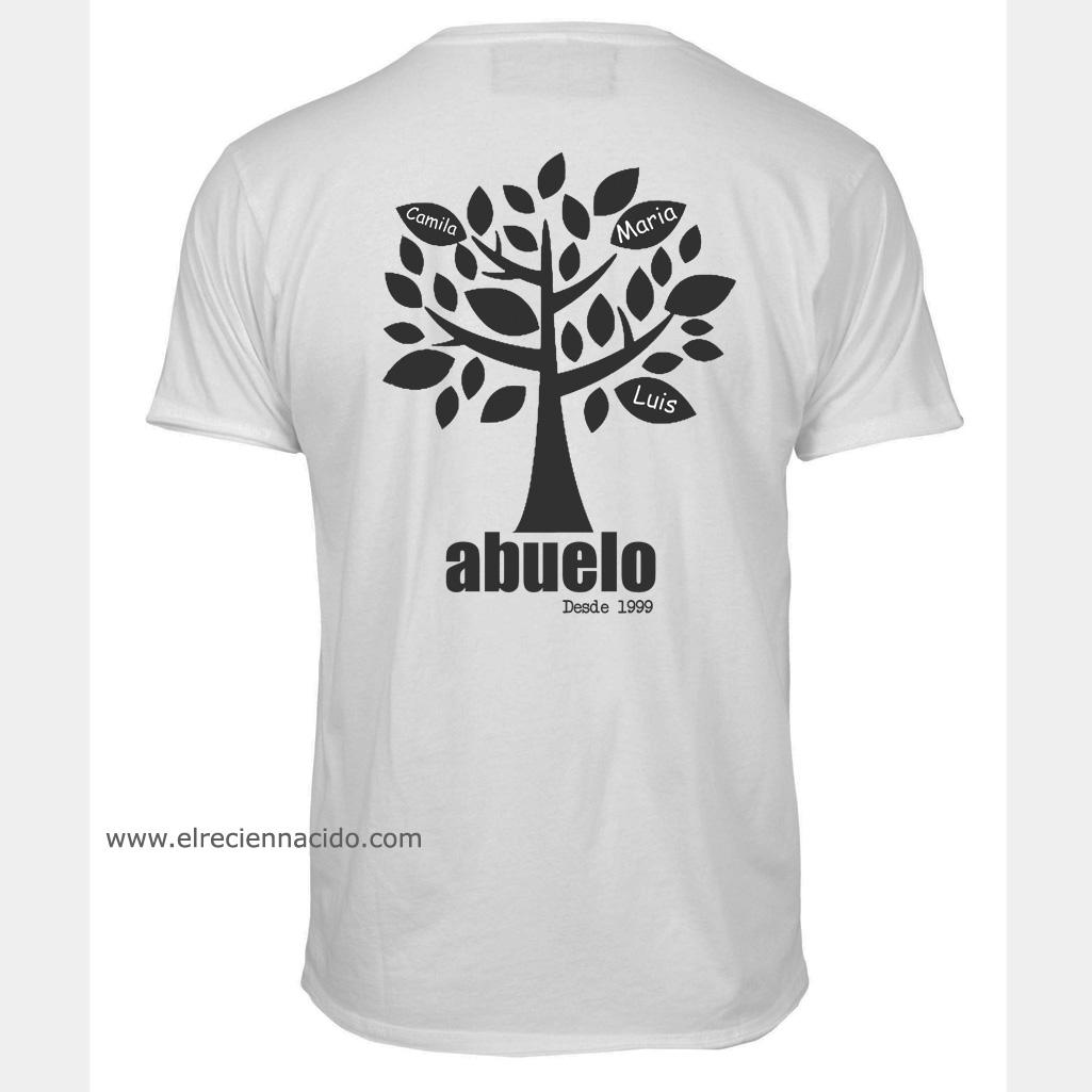 regalos originales para abuelos camiseta personalizada