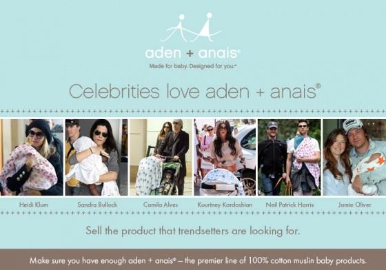 Aden Anais famosos