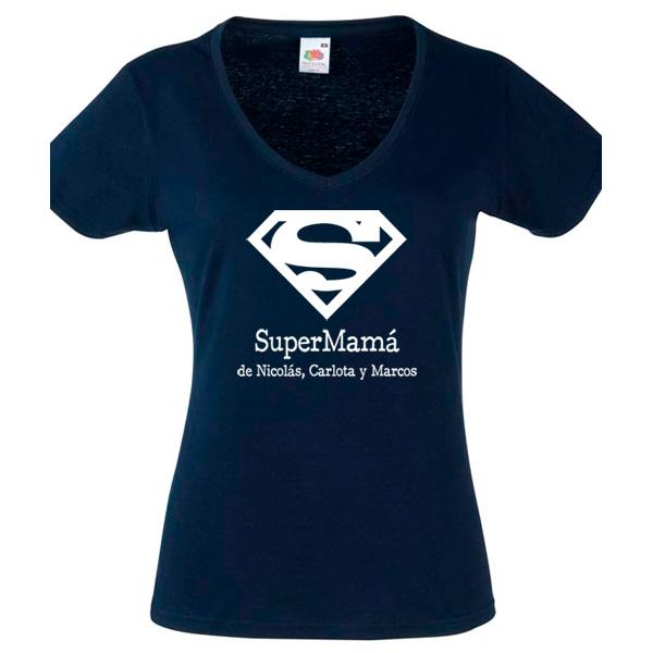 camiseta super mama