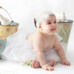 falda bebe bailarina