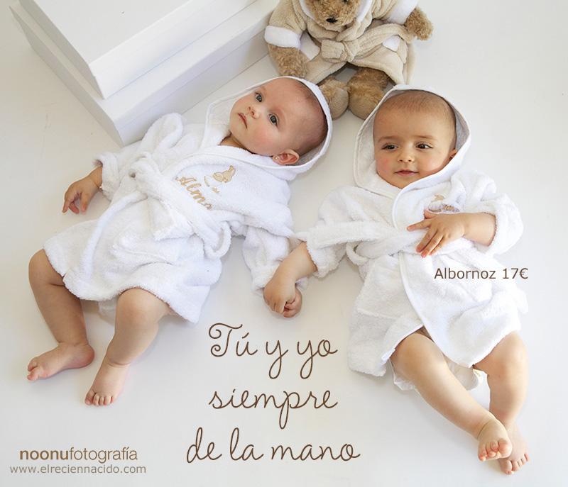 albornoces para bebes