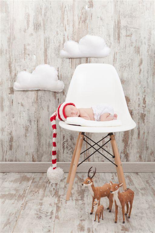 Ideas para felicitar la navidad con tu beb gorros de - Felicitaciones de navidad originales para ninos ...