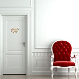 Carteles vintage para la puerta de la habitaci n o la cuna - Carteles para puertas habitaciones ...