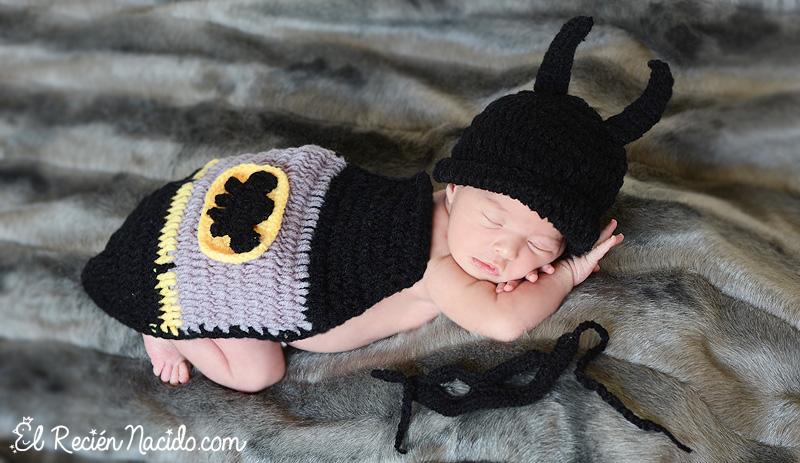 disfraz bebé superhéroe