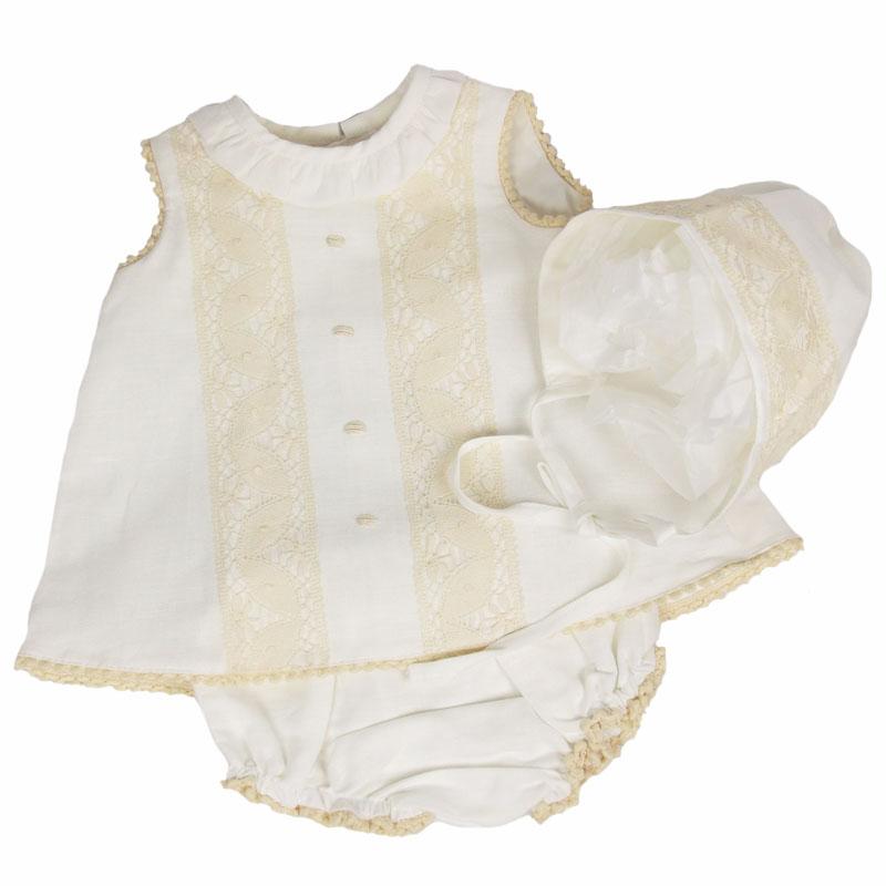 conjunto lino para bebés