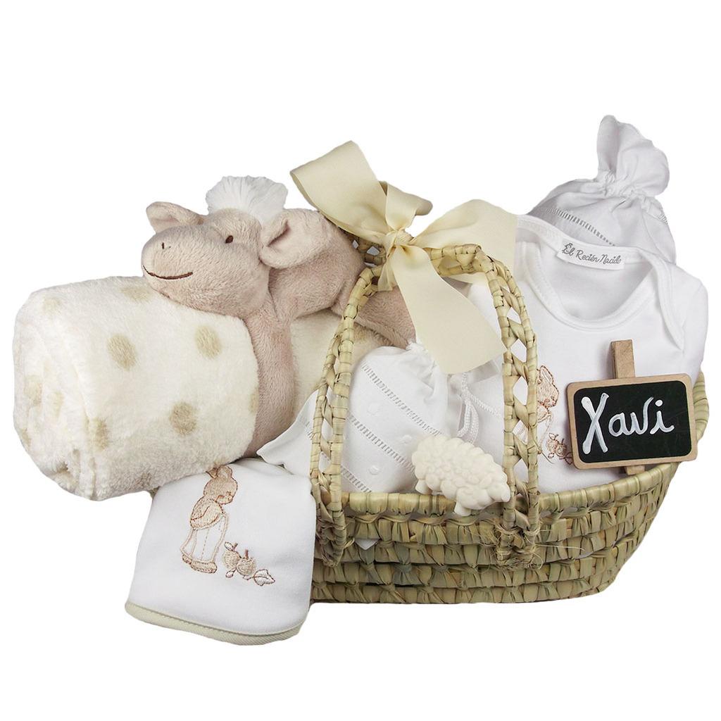 cestas y canastillas recien nacidos