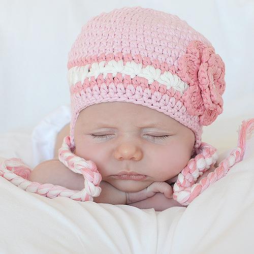 gorritos crochet bebés niñas