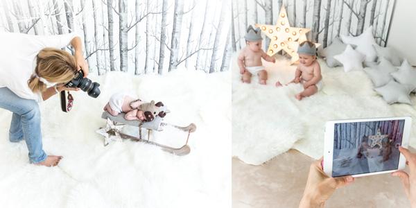 sesiones de fotos para bebés