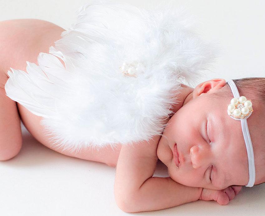 disfraz ángel bebé