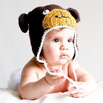 gorros para bebés
