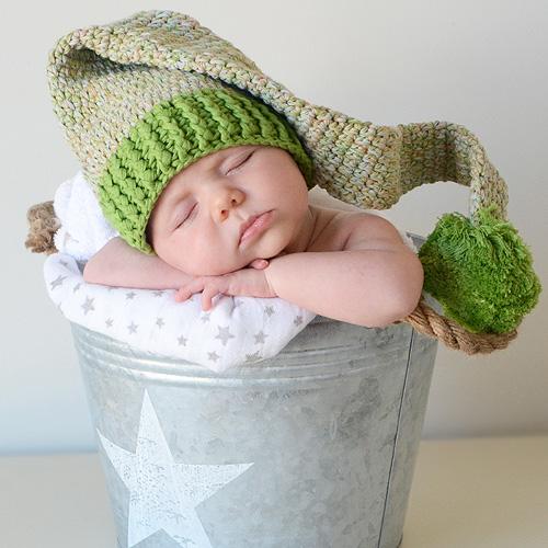 gorros crochet para bebés