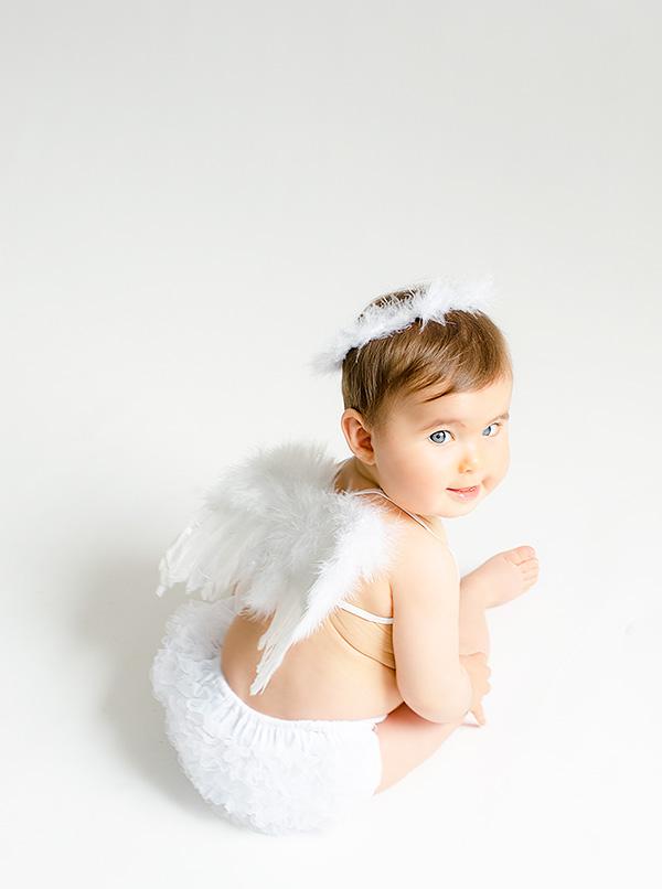 Sesion de fotos para bebes- DISFRAZ DE ÁNGEL