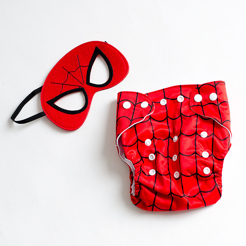 Disfraces originales para bebés - Spiderman