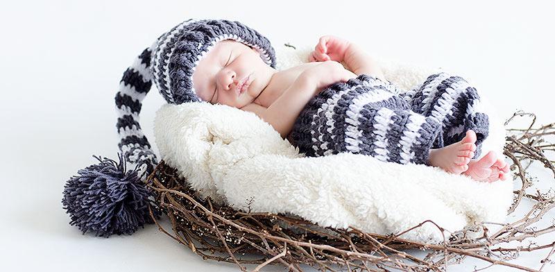 ropa bebés de punto