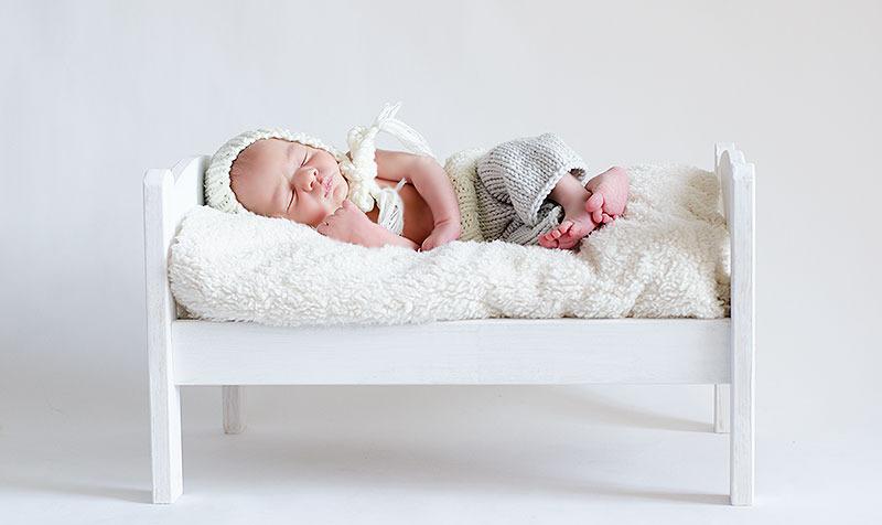 pantalón de punto para bebé