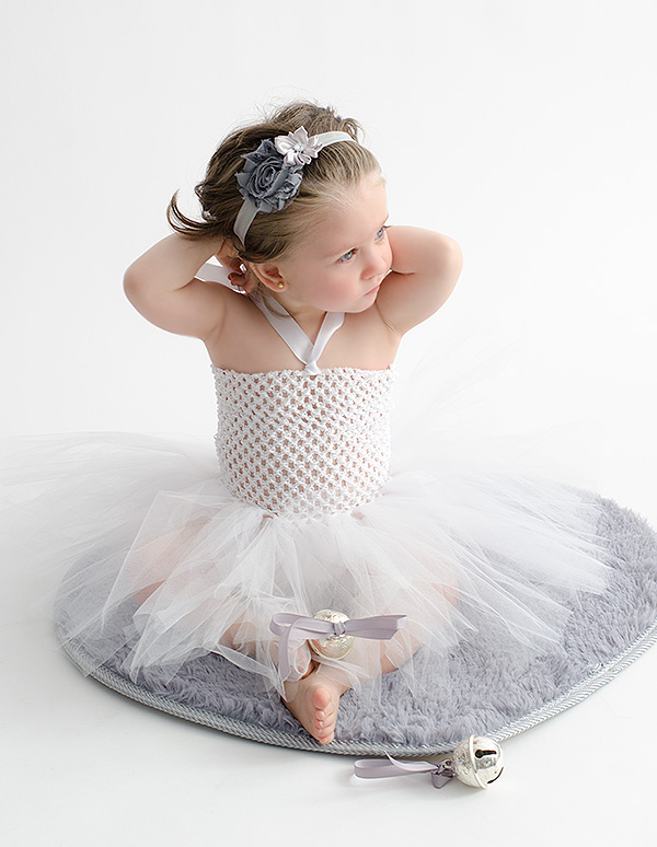 Vestido de tul para niñas
