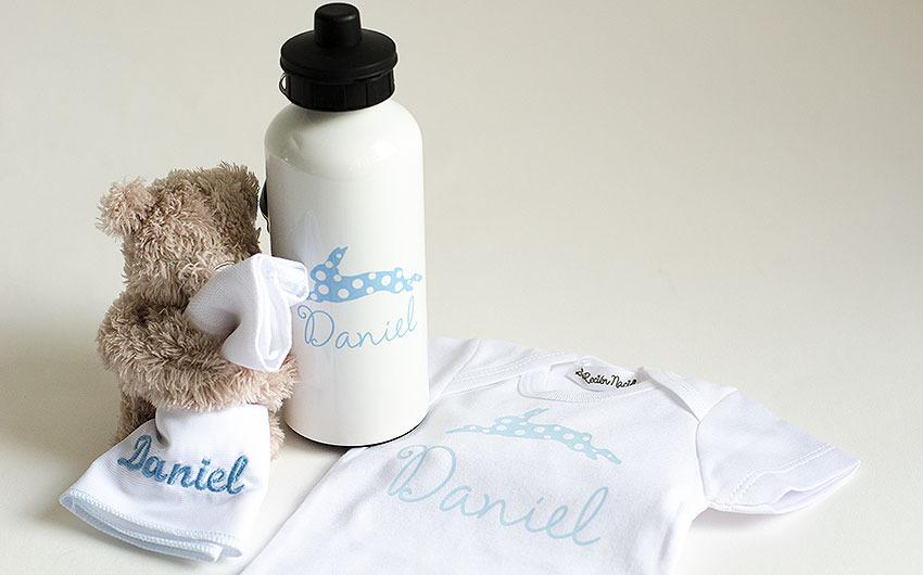 artículos personalizados bebés