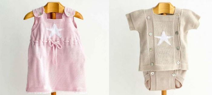 ropa de punto bebe