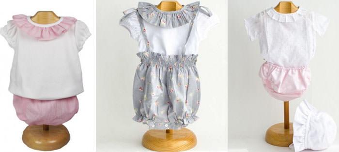 ropa de verano para el bebe