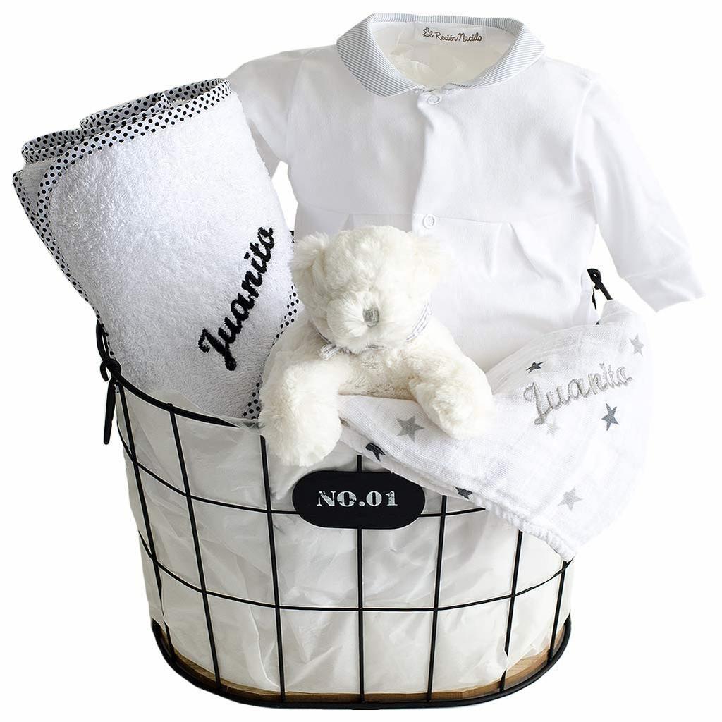 Canasta Para Bebe Recien Nacido.Regala Una Canastilla Para Bebes Recien Nacidos El Recien