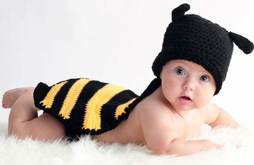 disfraz ganchillo bebés