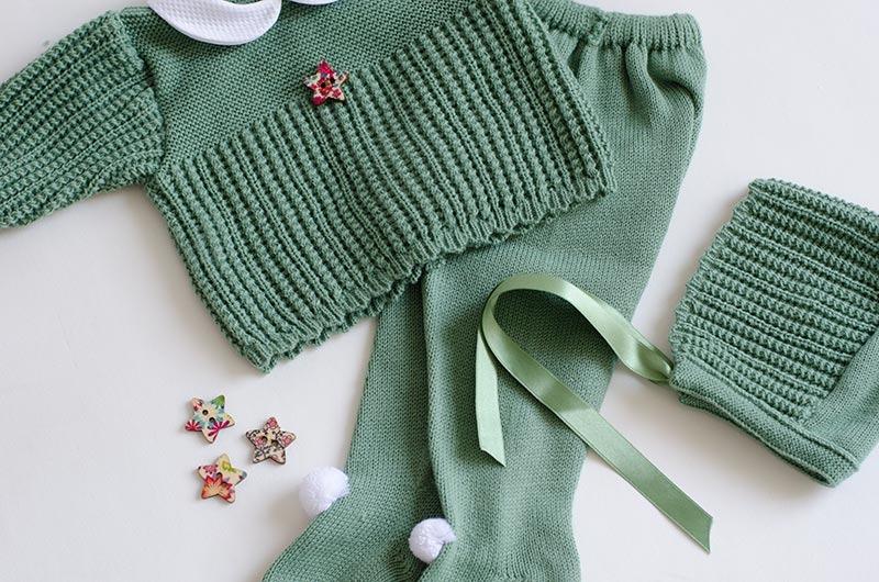 conjunto invierno para bebé