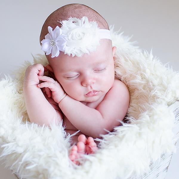 tocados para  bebé bautizo