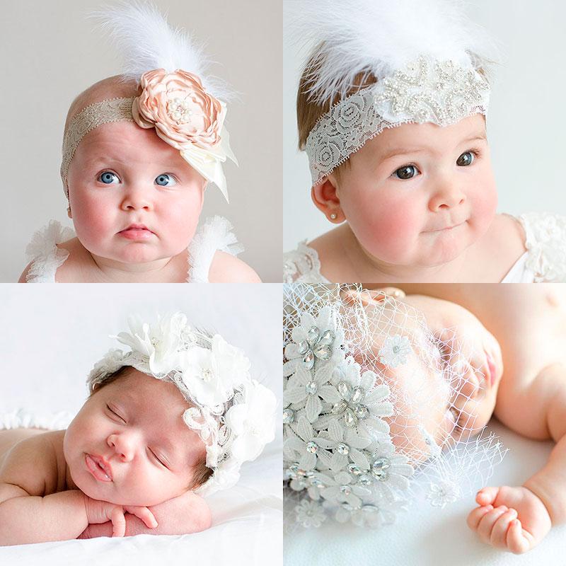 peinados de bautizo para bebés