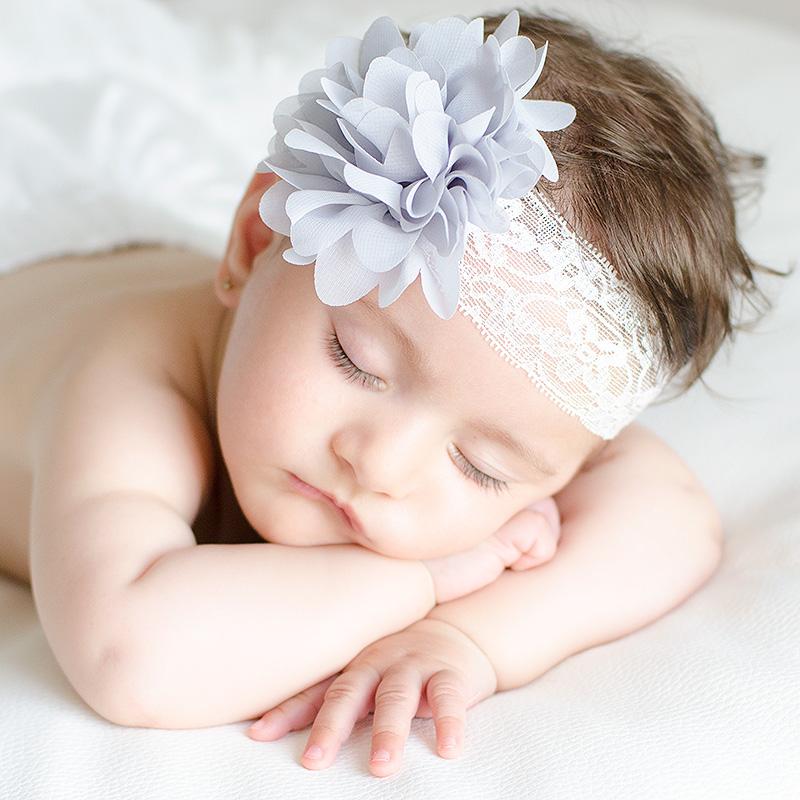 Diademas bebe diademas para bautizo el recien nacido - Diademas para bautizo ...
