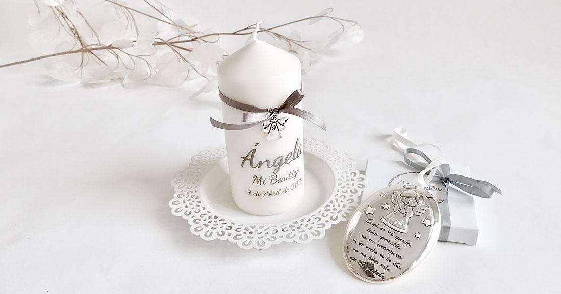 cunero de plata-vela personalizada
