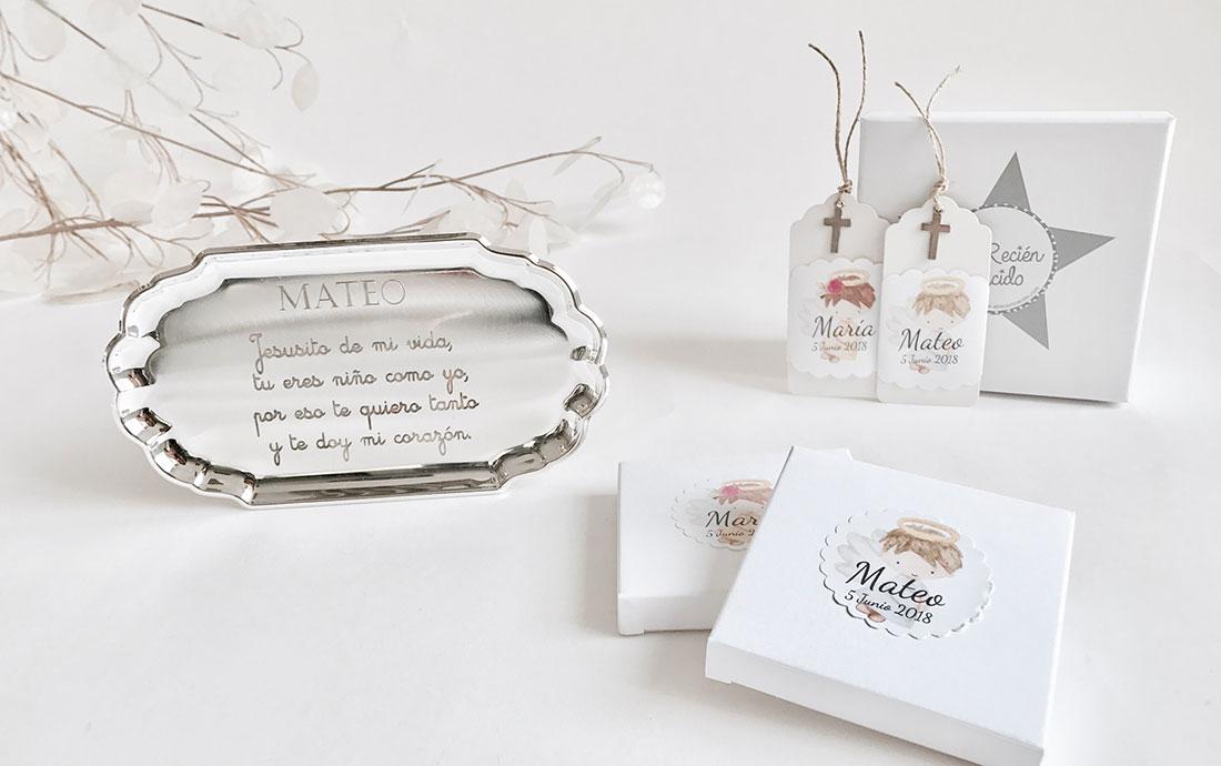 El recien nacido regalos personalizados para beb s - Que regalar en un bautizo ...