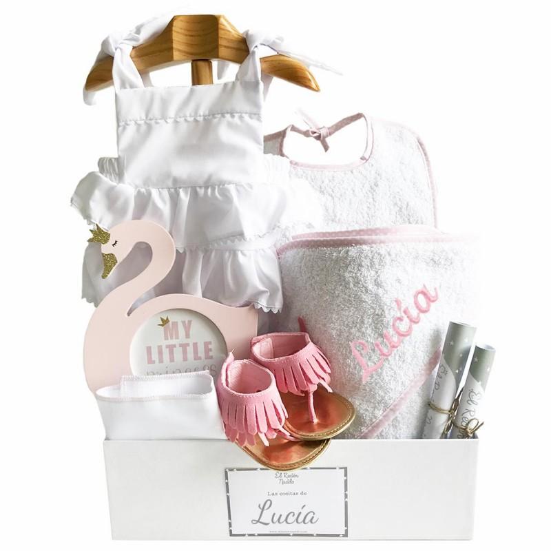 cesta regalo bebé