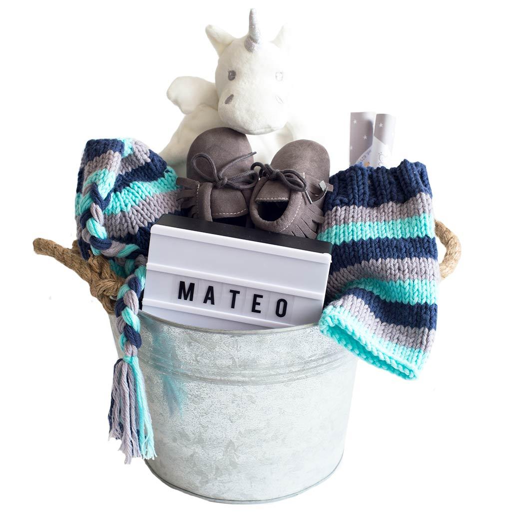 Regalos para bebes: canastillas y cestas personalizadas para recien nacidos
