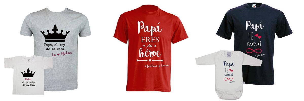 Camisetas personalizadas para padres