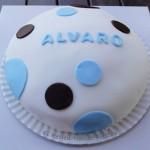 Tarta personalizada para Alvaro