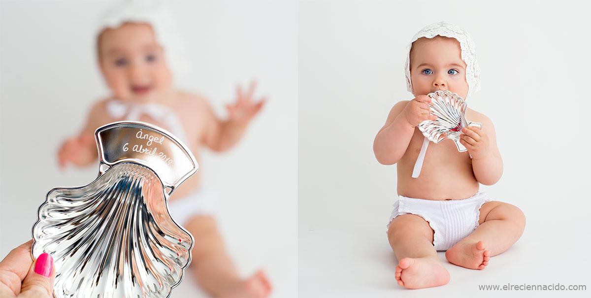 Regalos personalizados para bebés para bautizos