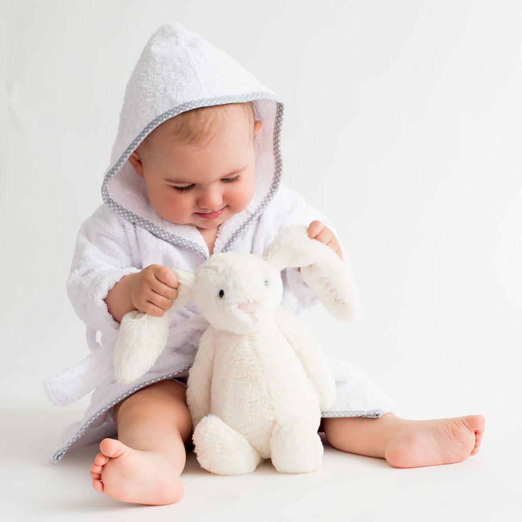 Albornoz bebe personalizado