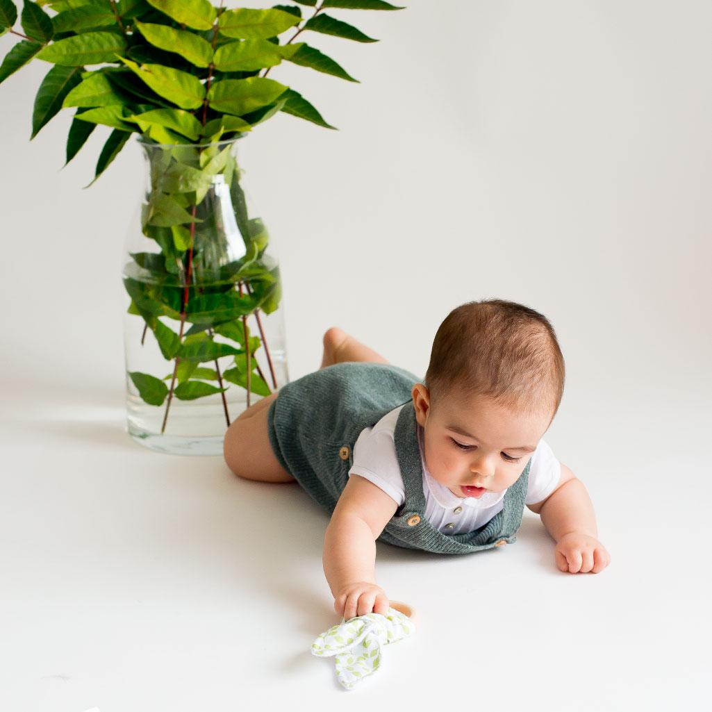 Mordedor de madera para bebé
