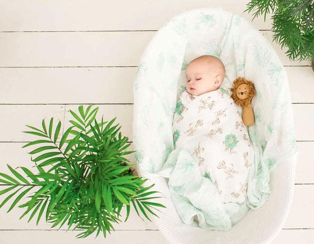 Muselina para bebés ecologicas