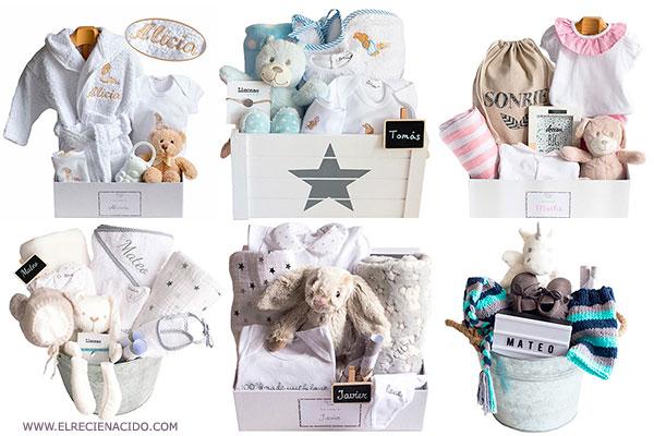 Canastillas bebé para regalar por nacimiento