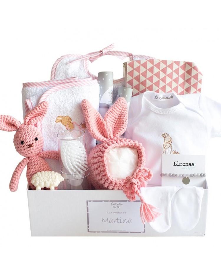 canastilla regalo para bebe niña