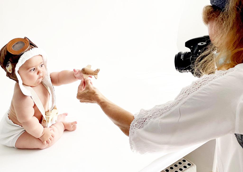 Reportaje fotografico de bebes